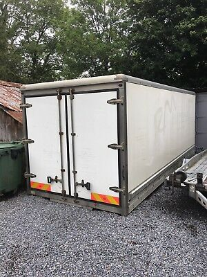 Lorry Body 20ft Storage Shipping Container
