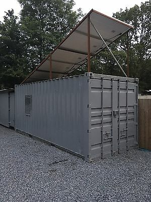 Shipping Container 20ft Storage Shed