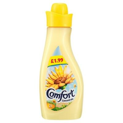 Comfort Concentrate Sunshiny Days 21 Washes 750ml PMP £1.99 (8 x 750ml)