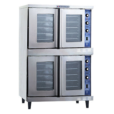 Bakers Pride GDCO-E2 Cyclone Dual Deck Electric Convection Oven - 220-240v/1ph