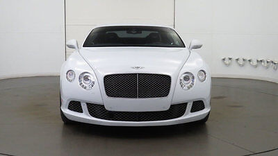 2014 Bentley Continental GT 2dr Coupe 2014 Bentley Continental - Low Mile Continental GT Speed Great Color Combination