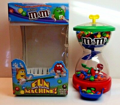 Vintage M&M's Fun Candy Dispenser Machine,Original in Box