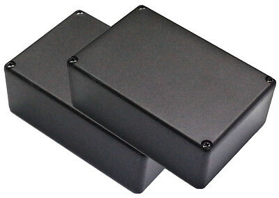 2 x electronic project enclosure potting box with lid ABS 28mmx50mmx74mm