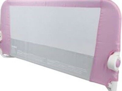 NEW Lindam Easy Fit Soft Fold Bed Guard Bed Rail - Pink