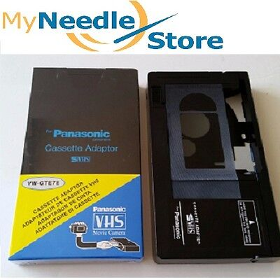 Motorized VHS-C Cassette Adapter for Panasonic and Other Brands