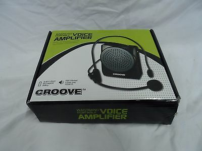 Croove 734 Voice Amplifier