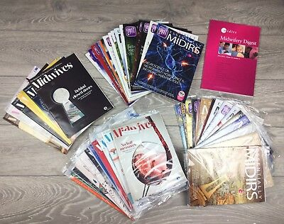 Big Bundle Essentially Midirs Journals Magazines Midwife Midwifery Student