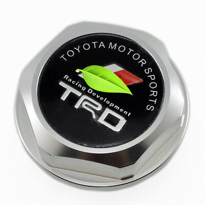 M37x3.0 Thread TRDN Engine Oil Filler Cap Cover For LEXUS SCION TOYOTA Silver