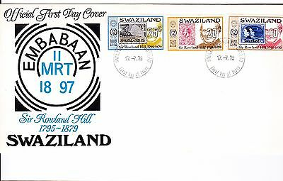 Swaziland 1979 - Rowland Hill First Day Cover. - . Unaddressed