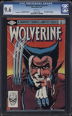 Wolverine 1 - Limited Series - CGC 9.6 - White Pages - Free Shipping
