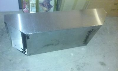 """Stainless Steel 54"""" Johnson Commercial Vent Hood/ Exhaust Hood   54X21X12"""