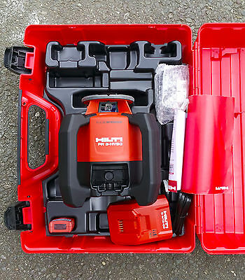 HILTI PR 3-HVSG Green Beam Rotating Laser Level with PRA 72 Wall Mount