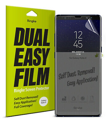Samsung Galaxy Note 8 Screen Protector Ringke® [Full Coverage] Clear Film [3pcs]