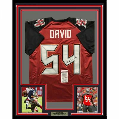 caa97fa71017f LAVONTE DAVID AUTOGRAPHED Signed Jersey Tampa Bay Buccaneers 9 of 10 ...
