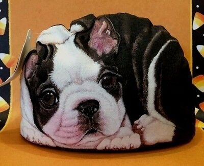 Fiddlers Elbow BOSTON TERRIER Dog Pupper Weight Doorstop Paperweight USA Made