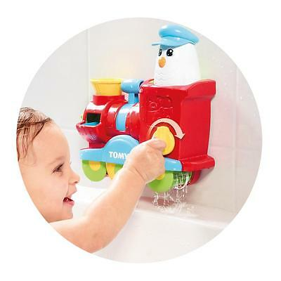 Tomy Bath Toys Bubble Blast Train  with Toomies and the Bubble Blast Train
