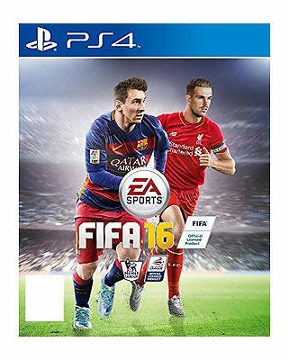 FIFA 16 (Sony PlayStation 4, 2015) Brand New Unopened, Sealed: PS4