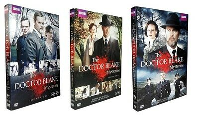 The Doctor Blake Mysteries: Complete Seasons 1-3 (DVD, 2017, 9-Disc Set) 1 2 3