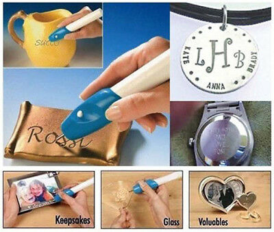 Electric Etching Engraved Engrave Carve Tool Steel Jewellery Engraver Pen Kit