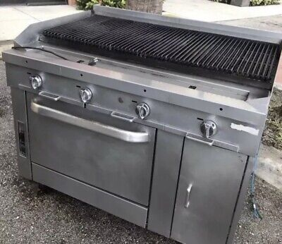 48 Inch Char Grill With Convection Oven