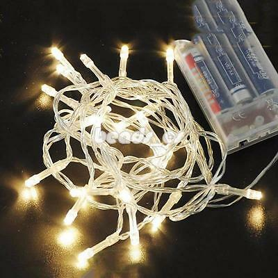 3M/6M LED String Fairy Lights Xmas Party Wedding Battery Powered Waterproof New