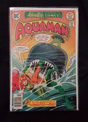 DC Adventure Comics 449 Aquaman Justice League