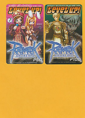 Ragnarok LEVEL UP cards x 2