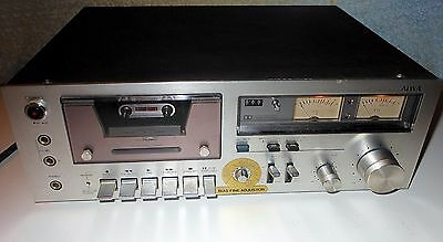 VINTAGE AIWA Stereo Cassette Deck AD-6350G DOLBY SYSTEM