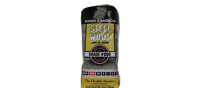 Household Extra Fine Steel Wool Paint Drip & Splatter Cleaning Polish Pad