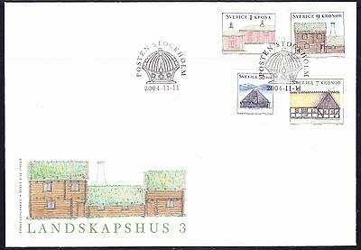Sweden 2004 - Housing First Day Cover - Unaddressed