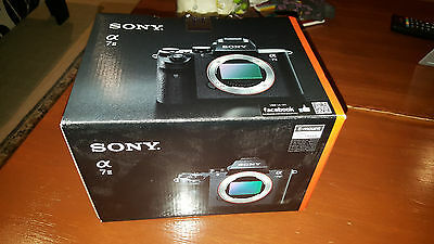 Sony  Alpha A7 Mark II 24.0 MP Digital SLR Camera - Black (Body Only)