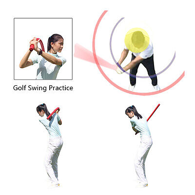 Andux Golf Swing Practice Speed Training Soft Club Yoga Exercise Supplies