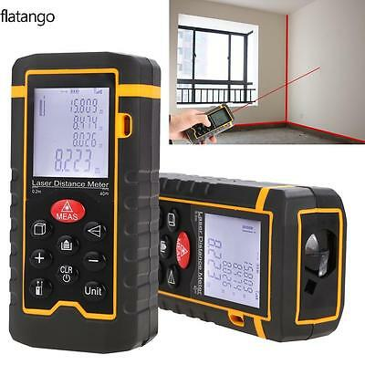 40m-100m Mini LCD Digital Laser Distance Meter Range Finder Measure Diastimeter