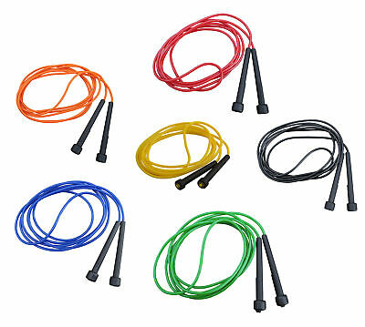 TRENAS Speed Skipping Rope - 3 M and 3.40 M Red Blue Yellow Green Orange  Ropes