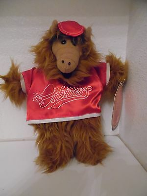 1988 Vintage ALF Orbiters Burger King Hand Puppet Plush Toy
