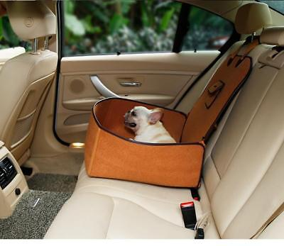Pet Car Safety Seat Portable Puppy Blanket Mat Dog Travel Carrier Barrier 2 in 1
