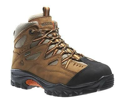 Wolverine Men's W02625 Durant Waterproof Steel Toe Work Safety Boots Hiker