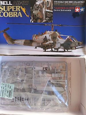 Two Helicopter kits - Hunter & Killer team Ah-1W + OH-58D in 1/72 scale