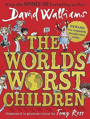 he Worlds Worst Children - David Walliams - Hardcover Book * Brand New *