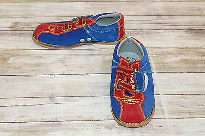 ** BSI Youth Bowling Shoes, Unisex - Size 1, Red/Blue