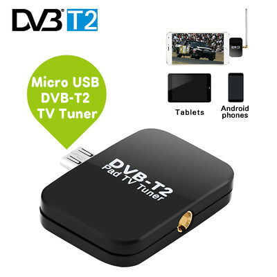 HD DVB-T2 Micro USB Tuner Mobile TV Receiver Stick For Android Tablet Pad Phone