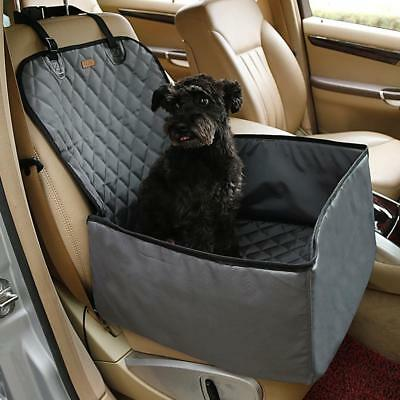 Pet Car Safety Seat Waterproof Puppy Blanket Mat Dog Mat 2 in 1 Travel Carrier