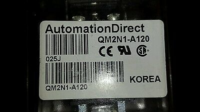 Automation Direct Qm2N1-A120 Relay New In Package