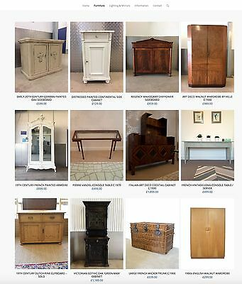 Antique And Vintage Furniture Business For Sale - £13,000