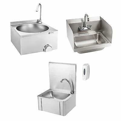Sink Cabinet Knee Contact Hand Wash Basin Stainless Steel Gastro Commercial Sink