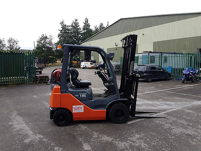 Toyota 1500Kgs Gas Forklift Truck