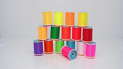 GLO - BRITE FLOSS 100 Yard Spool, 16 colors to choose ,Fly tying materials,tools
