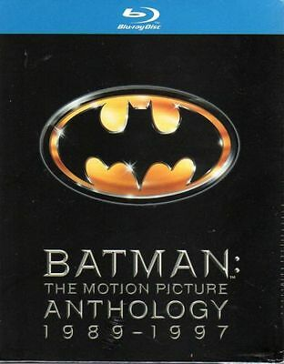 Batman Anthology (4 Blu-Ray) Cofanetto Collection - Nuovo
