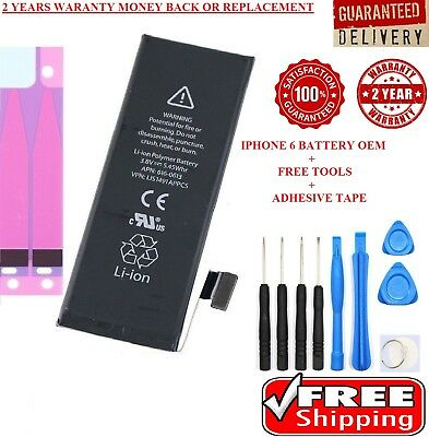 Brand New Genuine OEM Replacement Battery for iphone 6 1810mAh KIT