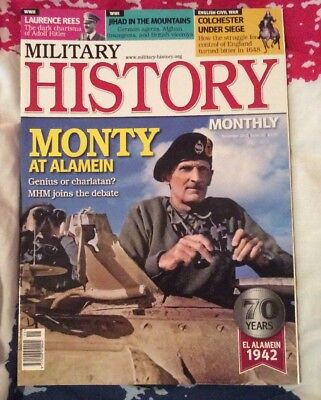 Military History Monthly: Monty at Alamein